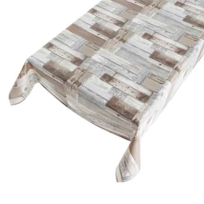 tafelzeil hout laminaat print