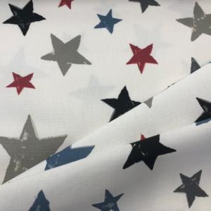 Digitale print sterren stof