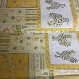 Gobelin decoratiestof kippen print