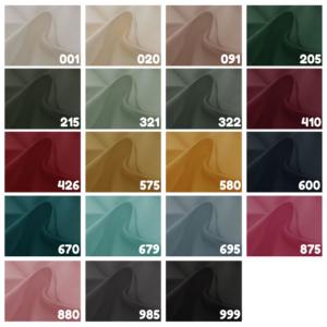 Katoen stof effen kleuren