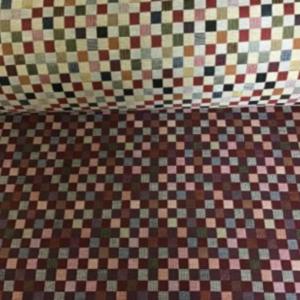Gobelin meubelstof blokken print