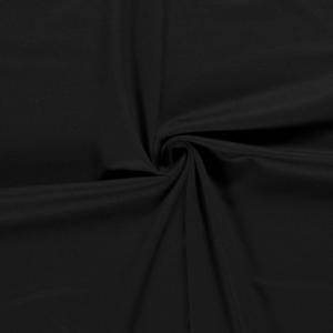 Punty jersey zwart effen