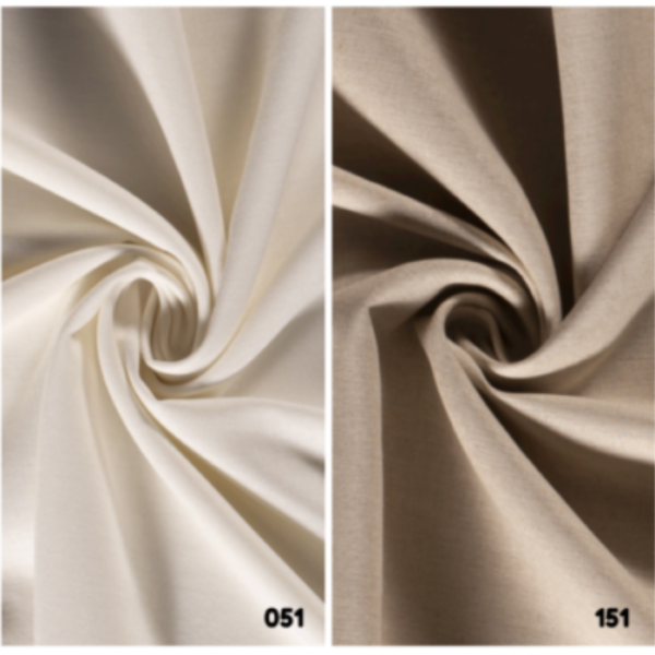viscose linnen stof effen