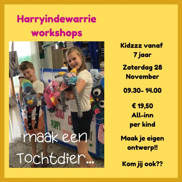 workshop kidzzz tochtdier maken