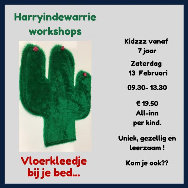 Kidzzz workshop vloerkleedje maken