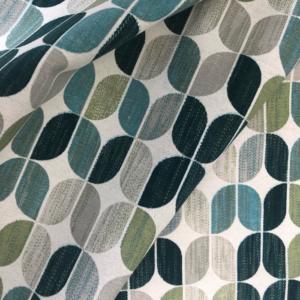 Geometrische tulp decoratie stof