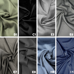 Dim-out polyester gordijnstof