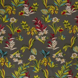 viscose linnen bloemen print