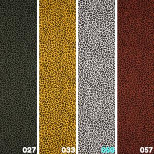 Katoen tricot luipaard print