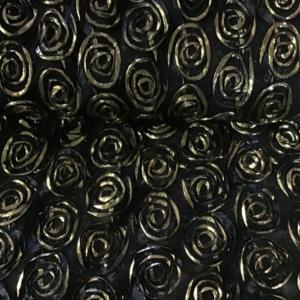borduur goud roos
