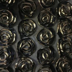 borduur goud roos tule