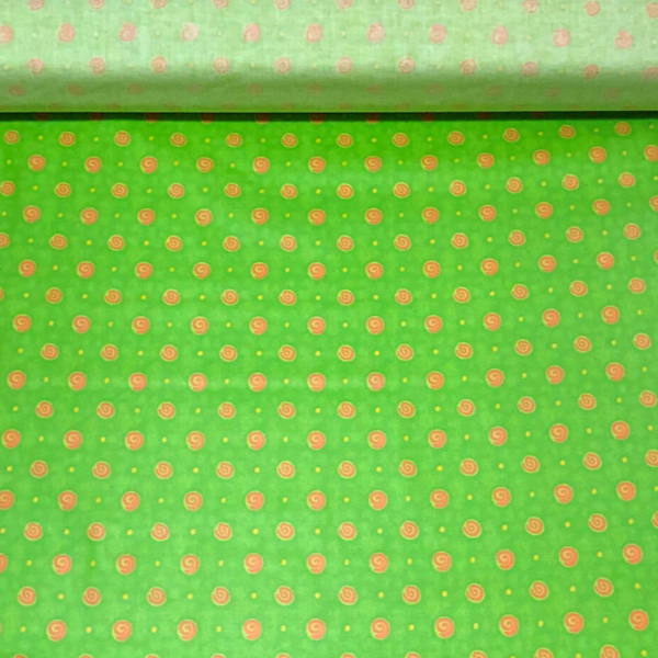 gecoate katoen neon groen