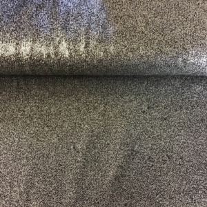 kleine pailletten stof zilver