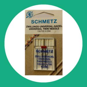 Schmetz tweeling naaimachine naald
