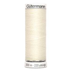 Gütermann naaigaren crème nr 1