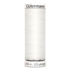 gutermann naaigaren wit nr 800