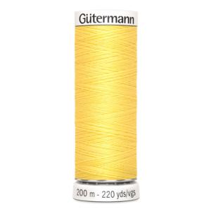 Gütermann naaigaren geel 852