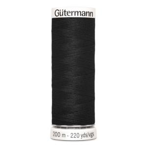 Gütermann naaigaren zwart nr 000