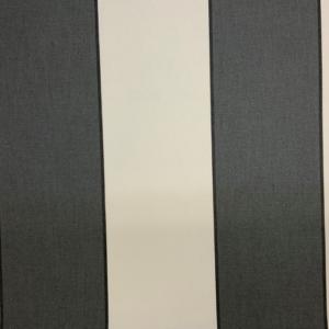 markiesdoek grijs wit gestreept