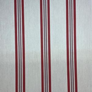 Markiesdoek gestreept rood