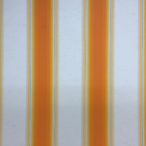Markiesdoek oranje beige gestreept