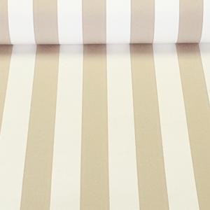 Outdoorstof toldo beige wit gestreept