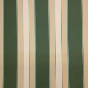 Markiesdoek groen beige streep