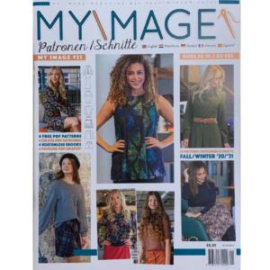 Myimage zelfmaakmode tijdschrift dames