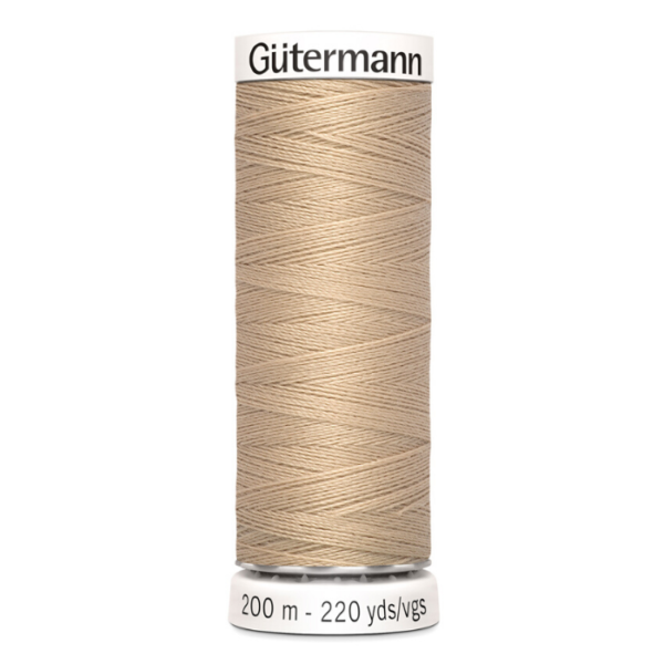 gütermann naaigaren beige nr 186