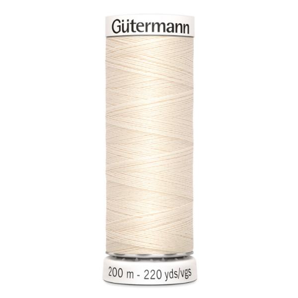 gütermann naaigaren ecru nr 802