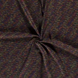 Jersey stof streepjes print