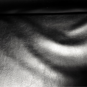 Skai zwart kunstleer stof