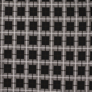 Jersey tricot stof geruit