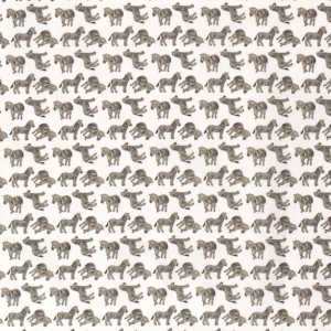 Poplin katoen zebra print