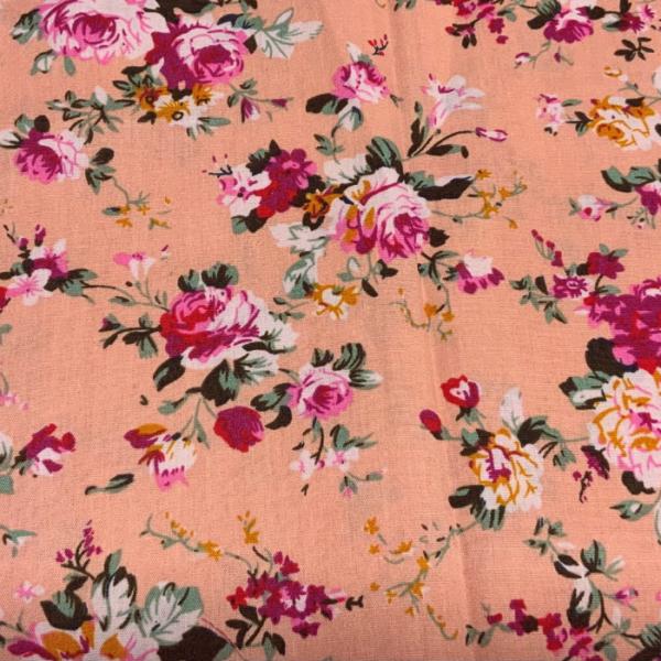 Katoen bloem fuchsia roze