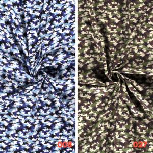 Poplin katoen camouflage