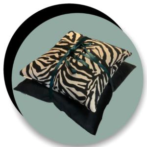 Sierkussen set zebra By HARRYS