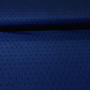 Decoratie stof jacquard blauw