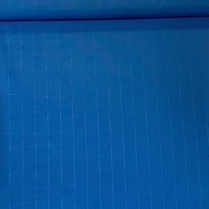 Decoratie stof blauwe ruit