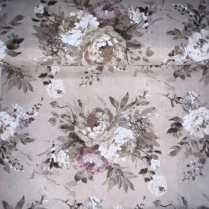 Decoratie stof romantische bloem