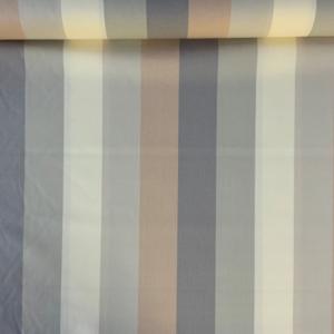 Decoratie stof aardetinten strepen