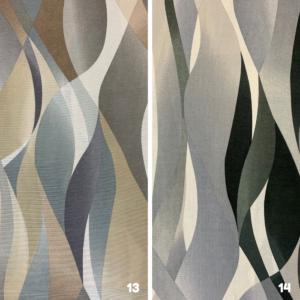 Decoratie stof golf print