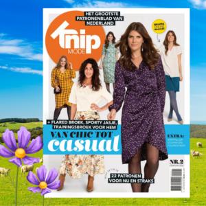 Knip zelfmaakmode tijdschrift Februari 2021