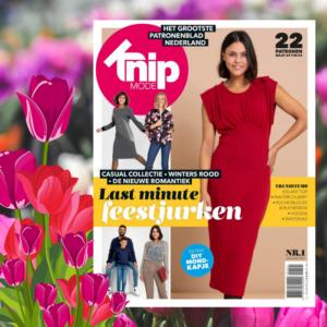 Knip zelfmaakmode tijdschrift Januari 2021