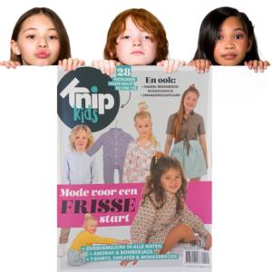 Knip kids zelfmaakmode tijdschrift 2021
