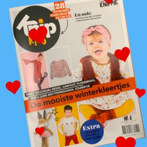 Knip kids zelfmaakmode tijdschrift