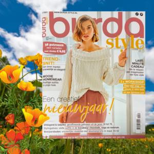 Burda zelfmaakmode tijdschrift Januari 2021