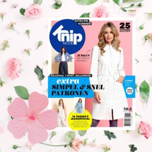 Knip zelfmaakmode tijdschrift Maart 2021