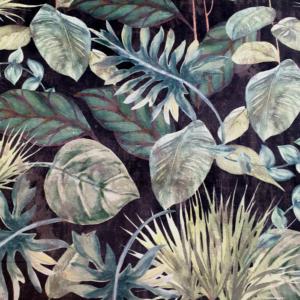 Digitale print velvet jungle