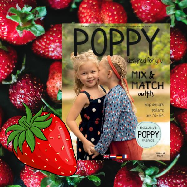 Poppy zelfmaakmode tijdschrift 2021